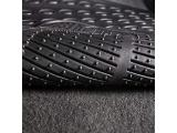 FH Group F11306GRAY Gray-Solid Trimmable Heavy Duty All Weather Floor Mats 3pc Full Set Photo 1