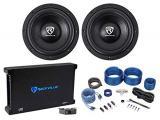 4000w Car Audio Subwoofers+Mono Amplifier+Amp Kit