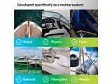 3M Marine Grade Silicone Sealant (08027) - For Boats and RVs - White - 1/10 Gallon Cartridge Photo 5