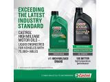 Castrol 03110 GTX High Mileage 10W-30 Motor Oil - 5 Quart Photo 4