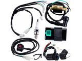 CNCMOTOK Wiring Loom Harness Kill Switch Ignition Coil