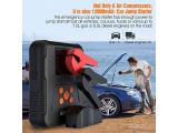 Battery Jump Starter Pack with Air Compressor Portable Photo 3