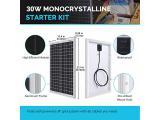 Renogy 30W Monocrystalline Solar Panel Photo 1