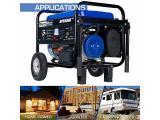 Gas Powered Portable Generator-5500 Watt Photo 3