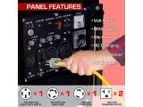 Gas Powered Portable Generator-10000 Watt Photo 2