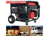 Gas Powered Portable Generator-10000 Watt Photo 3