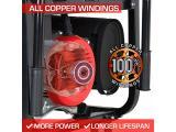 Gas Powered Portable Generator-10000 Watt Photo 4