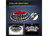 Nilight - TR-05 2PCS 60 Inch 180 LEDs Bed Strip Kit Photo 5