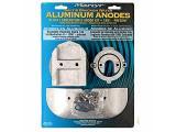 Martyr CMALPHAKITA Aluminum Alloy Merc Alpha Gen II Mercury Anode Kit  Aluminum Salt Water