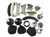 Engine Timing Chain Kit w/Chain Guide Tensioner Sprocket Photo 1