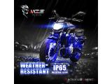 MZS Motorcycle LED Light Kit Multi-Color Neon RGB Strips Photo 4