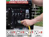 Durostar DS10000EH Dual Fuel Portable Generator Photo 3