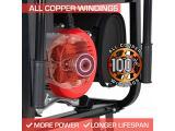 Durostar DS10000EH Dual Fuel Portable Generator Photo 5