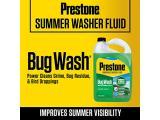 Prestone AS657 Bug Wash / Summer Windshield Washer Fluid Photo 2