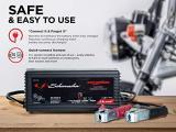 Schumacher SC1319 1.5 Amp 6V/12V Fully Automatic Smart Battery Charger Photo 3