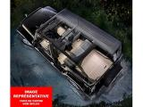 WeatherTech Custom Fit FloorLiner for Ford Flex -1st & 2nd Row (Black) Photo 1