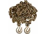 3/8 20 G70 Tow Chain Tie Down Binder With Grade 70 Hooks
