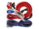 Complete 3500W Gravity 4 Gauge Amplifier Installation Wiring Kit