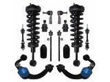 Detroit Axle - 4WD Front Strut Upper Control Arms Tie Rods Lower Ball Joints Sway Bars