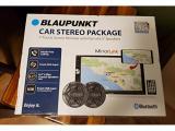 BLAUPUNKT 7 Touchscreen CAR Stereo W Pair 6.5 Speakers