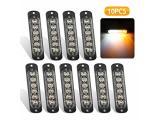 EEEkit 10 Pack LED Emergency Strobe Lights