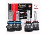 ALLA Lighting S-HCR H11 Low Beam HB3/9005 High Beam