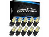 GIVEDOUA 3157 LED Car Bulb Super Bright 12V