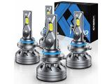 Fahren 9006/HB4 Low Beam and 9005/HB3 High Beam LED Headlight Bulbs