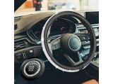 HAOKAI New Premium Car Bling Steering Wheel Cover for Women Girls
