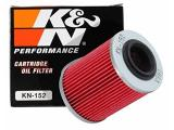 K&N Motorcycle Oil Filter: Designed to be used with Synthetic or Conventional Oils