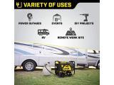 Champion Power Equipment 76533 4750/3800-Watt Dual Fuel RV Ready Portable Generator with Electric Start Photo 5