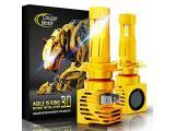Cougar Motor Wireless H7 LED Bulb, 6500K Slim