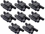 ENA Pack of 8 Ignition Coils Compatible with Cadillac