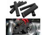 SHINEHOME Car 1200 Degree Spark Plug Wire Boots Heat Shield Protector Sleeve Cover