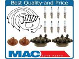 For 1990-1994 SC400 LS400 100% New Spark Plug Ignition Wires Cap Rotor 13pc Kit
