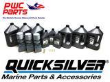 MERCURY Verado Quicksilver TRIPLE ENGINE 100 Hour 25W50 Oil Change & Lower Unit Maintenance Kit