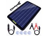 ECO-WORTHY 12 Volt 10 Watt Solar Car Battery Charger & Maintainer