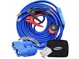 TOPDC Jumper Cables with Quick Connect Plug 1 Gauge 25 Feet