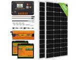 ECO-WORTHY Solar Power System for RV Off Grid Solar Panel Kit