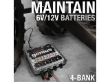 NOCO Genius G4 6V/12V 4.4 Amp 4-Bank Battery Charger and Maintainer Photo 2